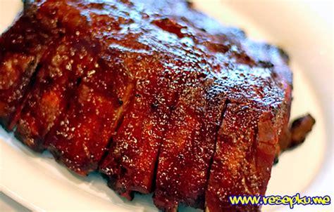 Saus Barbeque Pedas 2 resep iga bakar pedas manis saus bbq masakan eropa resepku me