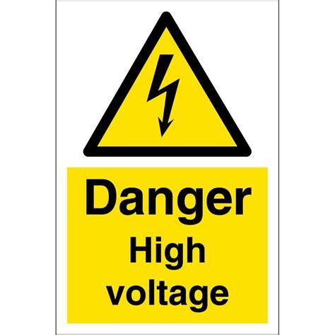 high voltage equipment diagnostics danger high voltage sign large for sale ryansautomotive ie