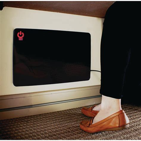 Space Heater For Desk by Cozy Products 200 Watt Cozy Legs Flat Panel Personal