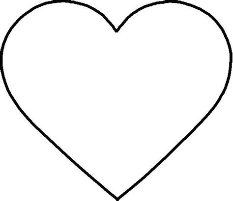 coloring page heart shape new calendar template site