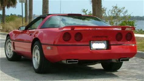 c4 corvette spoiler c4 corvette 1984 1996 aci rear wing spoiler except zr1