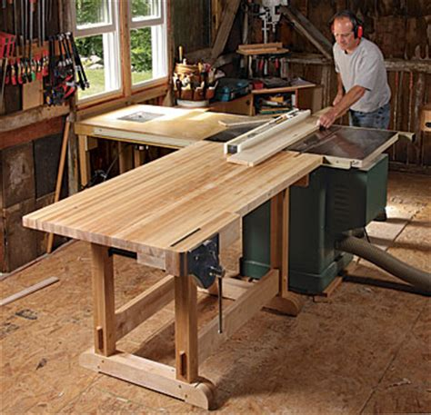 Storage Bench Maple Story Bench Multifungsi Storage Box Kursi outfeed table doubles as a workbench finewoodworking