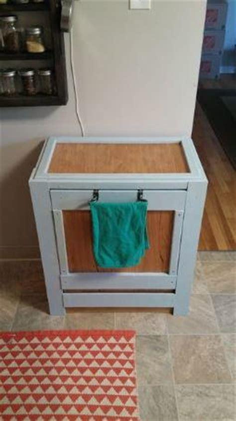 diy pallet trash can cabinet diy trash bin pallet cabinet diyideacenter