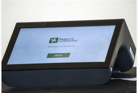 Banco Nazionale Prova by In Lombardia Prove Di Voto Elettronico Banco Di Prova