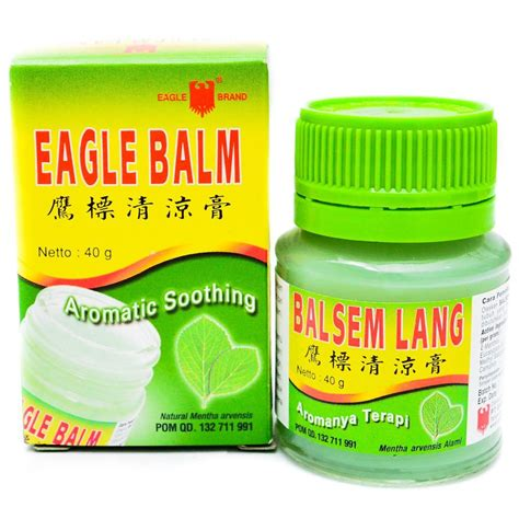 Balsam Cap Lang 20g balsem lang eagle brand balm 40 gram