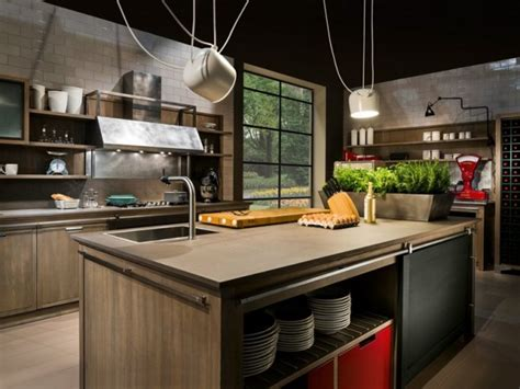 le industrial style cucine industrial style