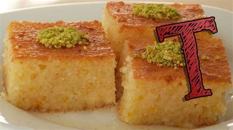 Homemade Coconut Cake Recipe by Delicious Turkish Dessert Revani Desserts Corner