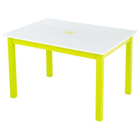 bureau enfant vert table bureau enfant bois quot abc quot vert