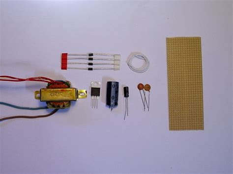 100nf capacitor maplin make a simple 12 volt power supply