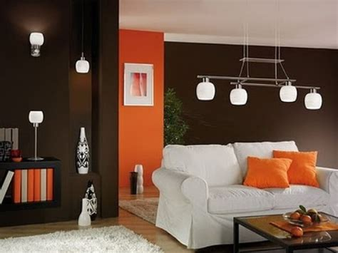 brown home decor ideas beautiful home decor at living room with brown and red