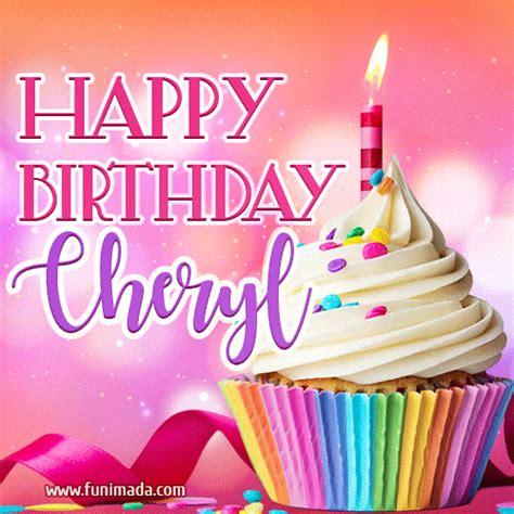 happy birthday cheryl lovely animated gif   funimadacom