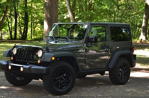 jeep willys 2016 jeep wrangler quot willys wheeler edition quot review by larry