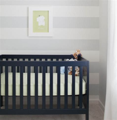 Navy Blue Crib by Colorful Cribs Roundup