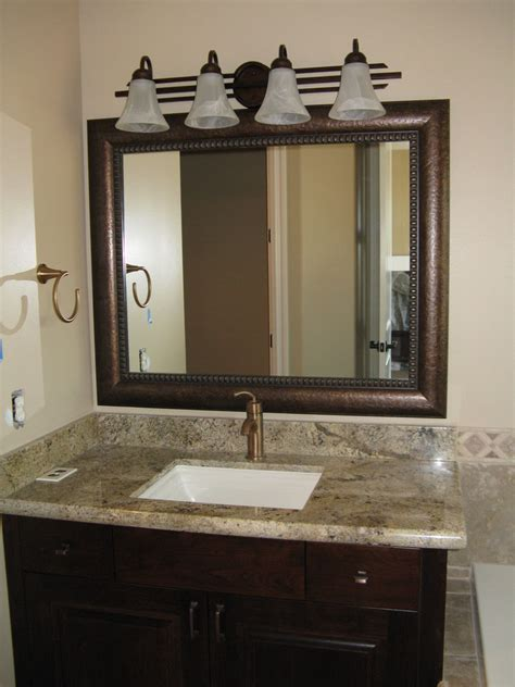 framed bathroom mirrors traditional with vanity regarding