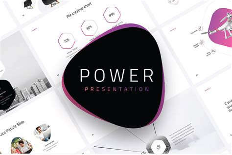 Power Modern Powerpoint Template Powerpoint Templates Just Free Slides Power Templates Powerpoint