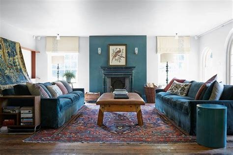 turquoise accents contemporary living room caldwell living room with turquoise accents reclaimed furniture