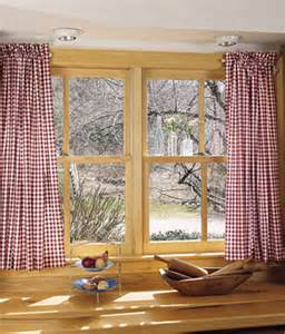 Country Cabin Curtains Cabin Check Tier Curtains Country Curtains 174