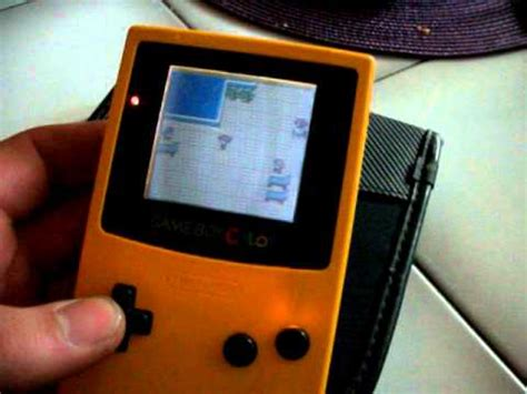 gameboy color screen mod game boy color frontlight mod part2 youtube