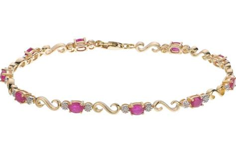 Ruby 9 1ct simple gold jewellery