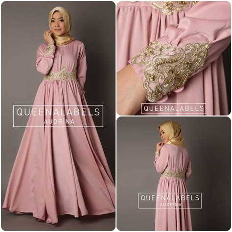 Gamis Caltha dress for your beautiful pusat grosir baju muslim