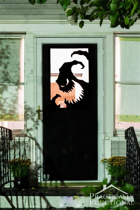 Halloween Spooky Decorations 31 Ideas Halloween Decorations Door For Warm Welcome
