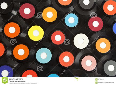Background Records Vinyl Records Background Stock Photo Image 61467193