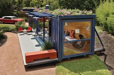 shipping container homes shipping container guest house by jim poteet homedsgn