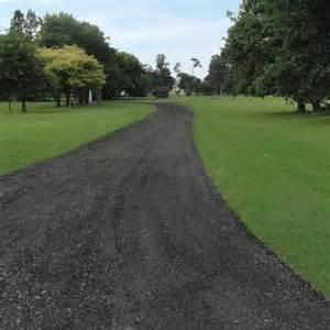 millings recycled asphalt rural driveways highway 1