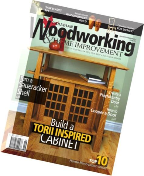 great canadian woodworker woodworking magazine woodworking projects