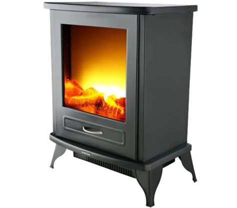 electric fireplace heater with realistic flames