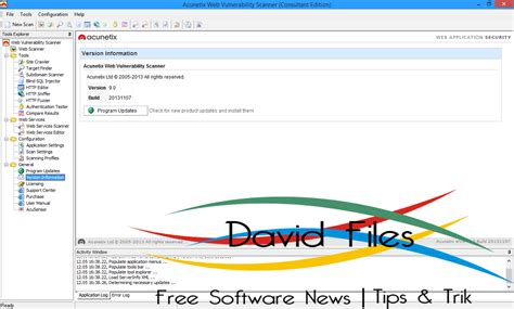 tutorial web vulnerability scanner rinoe computer acunetix web vulnerability scanner 9 full