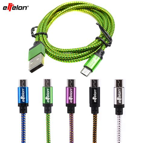 Usb Cable Data Cable 2 In 1 1 M For Android Blackberry Ss 0043 effelon 20cm 1m 2m micro usb cable charger data sync