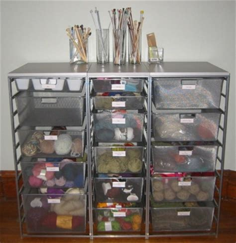 organize knitting supplies organizing my yarn collection and knitting supplies