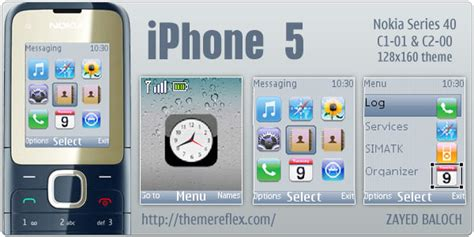 themes download c1 apple iphone themes for nokia c2 00