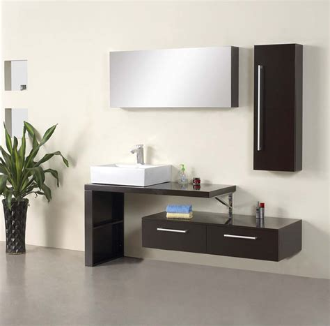 bathroom vanity modern mirage modern bathroom vanity set 47 2 quot