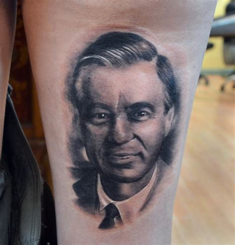 rogers tattoo venetian gathering tattoos portrait fred rogers
