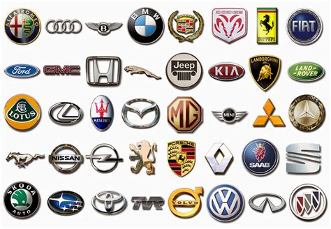 foreign sports car logos foreign car symbols and names