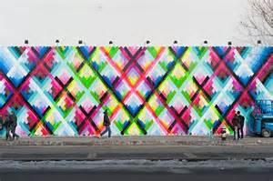 Outdoor Wall Murals maya hayuk s bowery mural t h e o r i g i n a t o r s