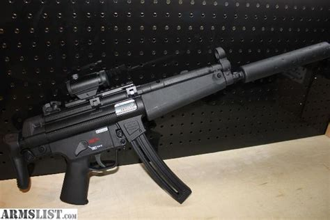 Walther Mounting Mp5 armslist for sale umarex mp5 a5 22