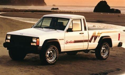 1985 jeep comanche jeep comanche 1985 1992 l automobile ancienne