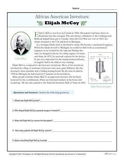 best 25 inventors ideas on black history