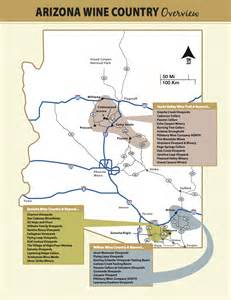 arizona vineyards map cayuga winery map images