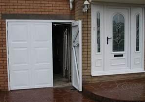 Hinged Garage Doors Side Hinged Steel Garage Doors Sales Service Bolton Wigan Chorley Bury