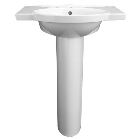 Pedestal Faucet by Pedestal Sink Roycroft 26 Inch Pedestal Lavatory From Dxv