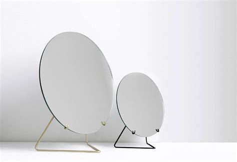 frameless table mirror designed by moebe twentytwentyone