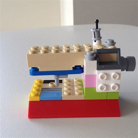 tutorial lego machine lego sewing machine the crafty mummy