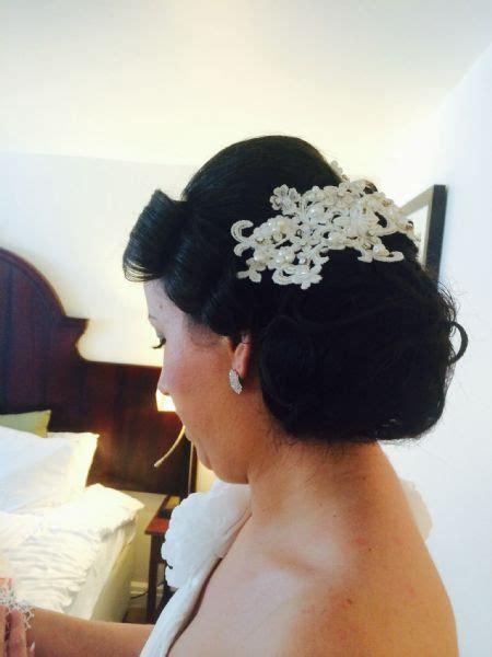 Vintage Wedding Hair Bristol by Alnaki Hair Design And Bridal Specialist Hairdresser In