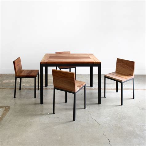 All Modern Dining Table Farmhouse Modern Dining Table Chadhaus Touch Of Modern