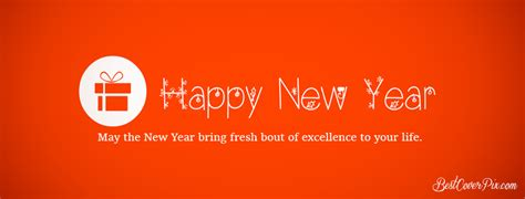 happy new year wishes 2018 fb cover banner red bg