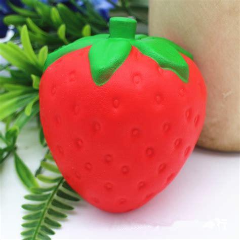 Rising Mainan Squishy Fruit Jumbo squishy strawberry jumbo 11 5cm rising soft fruit